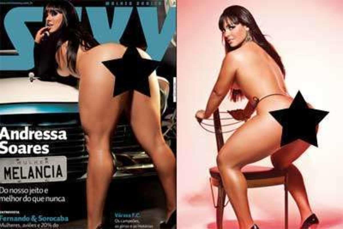 Andressa Soares Playboy capa da sexy, mulher melancia diz que gosta de uns tapinhas