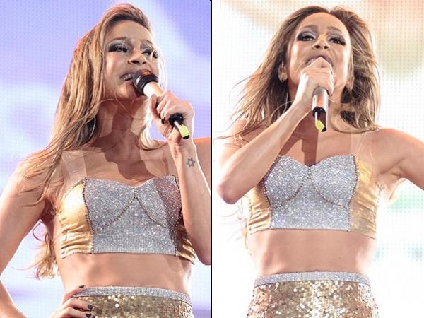 Cláudia Leitte responde críticas em relação ao Rock in Rio