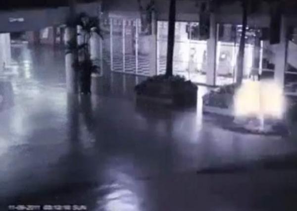 Câmeras de segurança teriam flagrado
