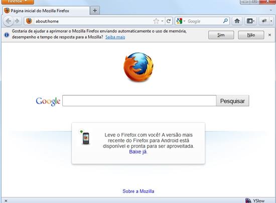 Conheça cinco motivos para você baixar imediatamente o Firefox 7