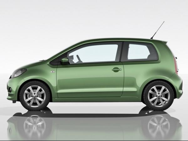 Skoda apresenta versão própria do VW Up!