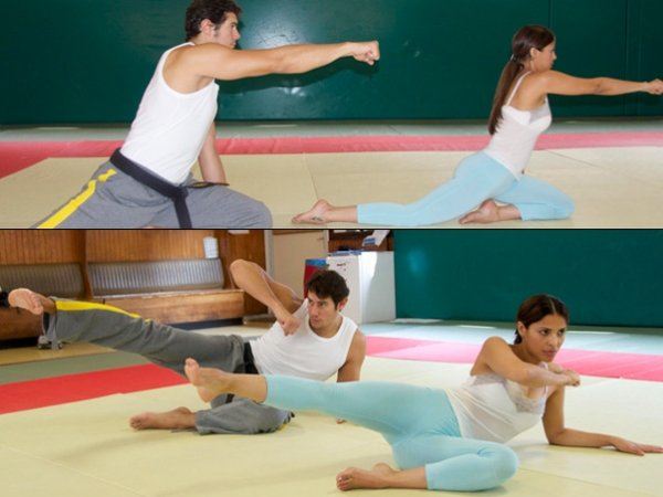 Ex-BBB Gyselle Soares pratica artes maciais para manter a forma