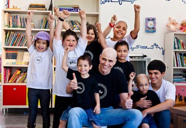 Reynaldo Gianecchini é padrinho de luta contra o câncer