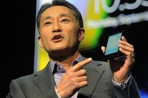 Sony apresenta novo celular da linha Xperia  em feira de tecnologia