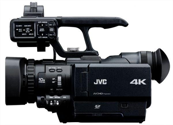 JVC lança câmera capaz de gravar imagens com definição 4 vezes maior que a Full HD