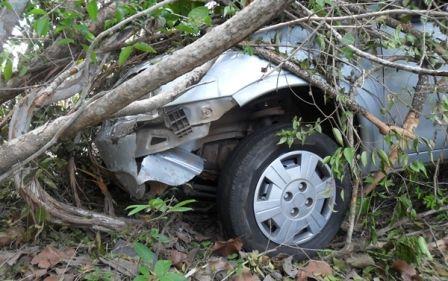 Bando rouba carro e abandona na rodovia PI-113; fotos!