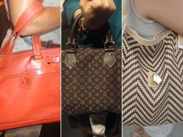 Fashionistas adotam bolsas grandes e práticas na semana de moda