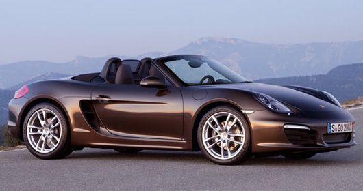 Porsche revela a terceira geração do Boxster no Salão de Detroit