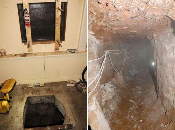 Gangue cava túnel de 30 metros para furtar caixa eletrônico