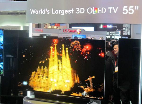 TV de OLED da LG ganha título de melhor produto da CES 2012