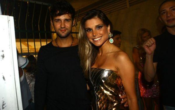 Após separação, Flávia Viana e Fernando Justin aparecem juntos pela primeira vez