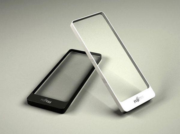 Smartphone conceito possui tela totalmente transparente