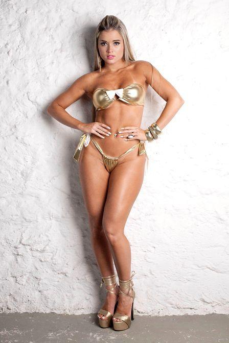 Panicat Aryane Steikoopf é eleita a mais gostosa do planeta e já negocia ensaio nu na Playboy