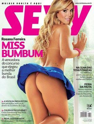 Revista com ensaio nu da Miss Bumbum vende 50 mil exemplares
