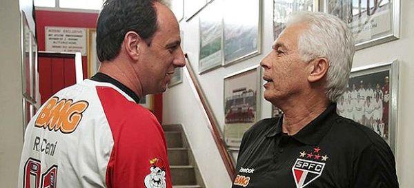 Leão se solidariza com Rogério Ceni, mas já fala em pedir novo goleiro