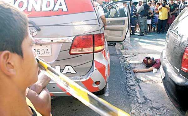 Policial reage e mata assaltante durante saidinha de banco no CE