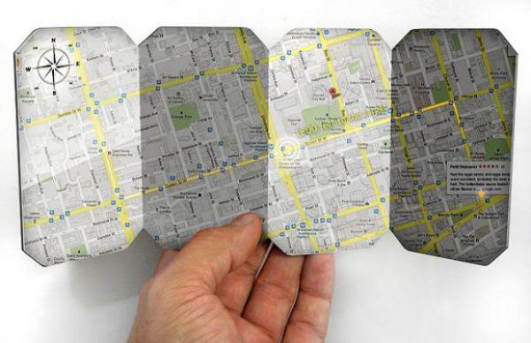 Projeto sugere smartphone dobrável e destacável como cartões
