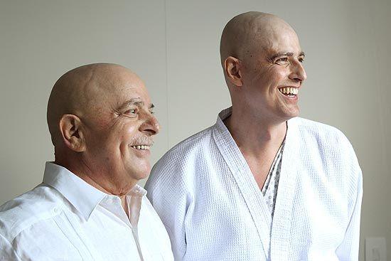 Ex-presidente Lula e Gianecchini se encontram em hospital