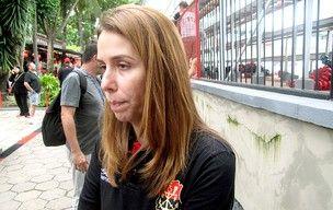 Patricia Amorim curte réveillon confiante: