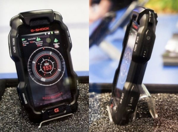 Casio apresenta smartphone conceitual e resistente em estilo G-Shock