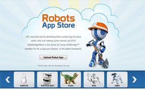 Empresa cria loja de aplicativos que ensinam novos truques para robôs