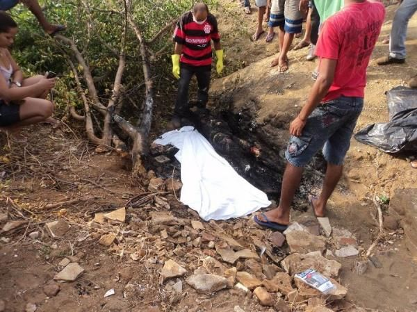Homem é morto e tem corpo queimado em cidade do Piauí