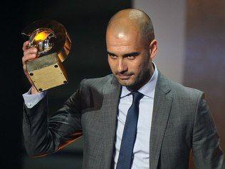 Guardiola dá troco em Mourinho e é eleito melhor técnico do ano