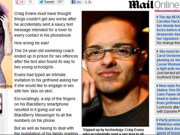 Homem é preso por mandar SMS sexual por engano para todos os contatos do celular