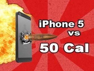 Vídeo no YouTube mostra iPhone 5 sendo alvejado por uma arma