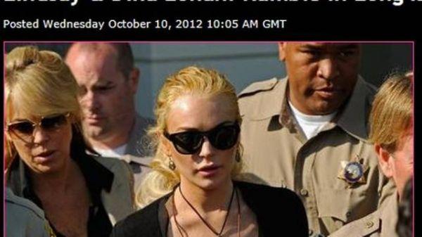 Lindsay Lohan briga com a mãe e polícia é chamada para apartar discussão