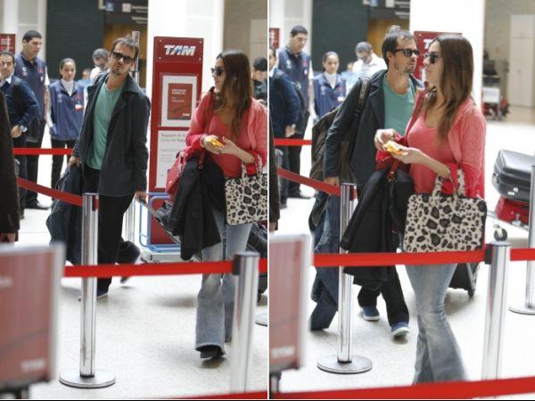 Termina casamento de Thaila Ayala e Paulo Vilhena, diz jornal