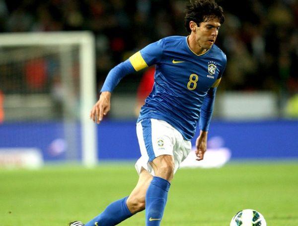 Comandado por Kaká e Oscar, Brasil faz 6 no Iraque de Zico