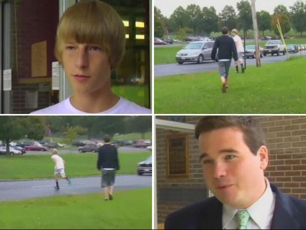 Estudante sofre ataque enquanto dava entrevista sobre bullying