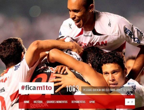 Torcedores criam site para pedir que Rogério Ceni não se aposente
