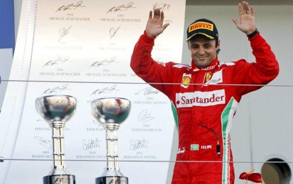 Massa acerta renovação com Ferrari, e anúncio será terça
