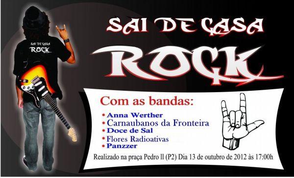 Sai de Casa, Rock! acontece neste sábado (13) com cinco bandas de Teresina