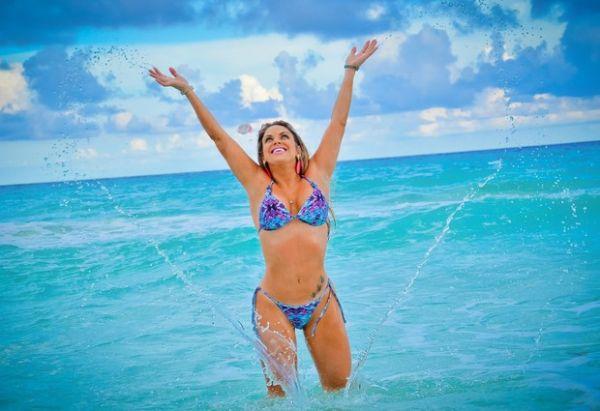 Peladona de Congonhas faz ensaio em Cancun