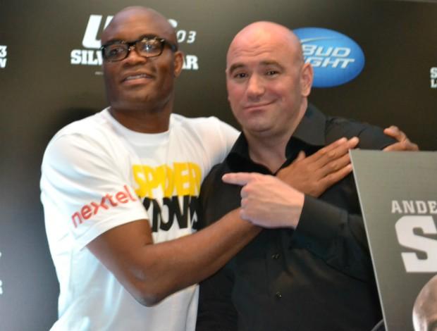 UFC Rio 3: Dana White compara Anderson Silva a Mike Tyson e Michael Jordan