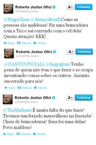 Roberto Justus e Ticiane Pinheiro se explicam após susposta discussão