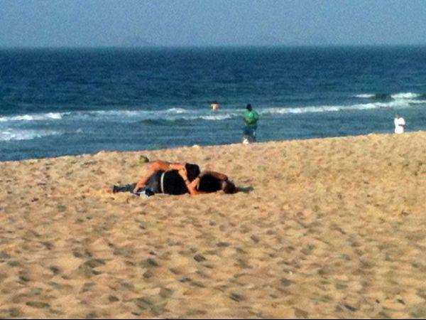 Estudante flagra casal fazendo sexo na Praia de Ipanema, no Rio