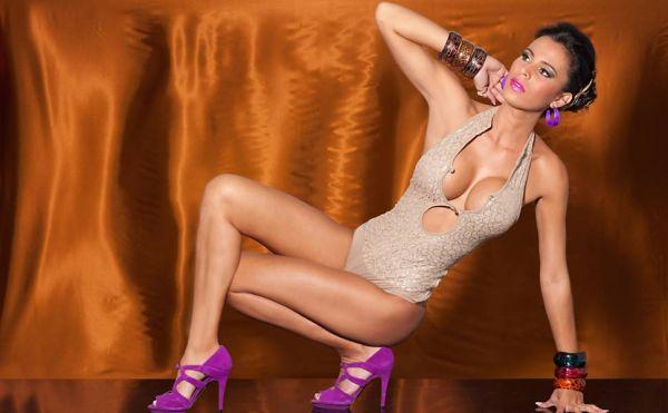 Gata do Paulistão, Lorena Bueri faz novo ensaio sensual; fotos