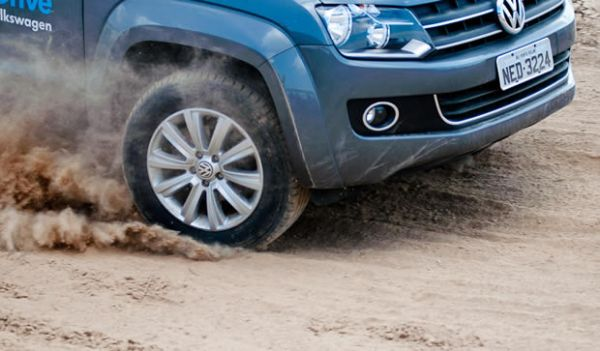 Volkswagen do Brasil monta pista off-road em Teresina