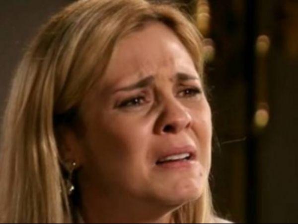 Adriana Esteves só chora nos bastidores de novela, diz jornal