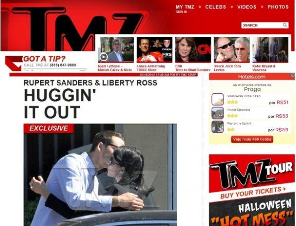 Diretor que teve caso com Kristen é visto abraçando mulher