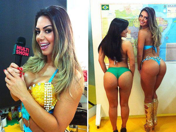Graciella Carvalho avalia ?potencial? das candidatas do Miss Bumbum