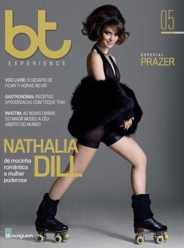 Nathalia Dill posa de patinadora e conta quais são seus maiores prazeres