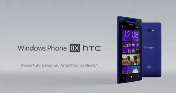 HTC revela vídeo do 8X, seu Windows Phone 8 top de linha