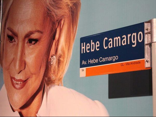 Após retirada de árvores, Avenida Hebe Camargo é inaugurada
