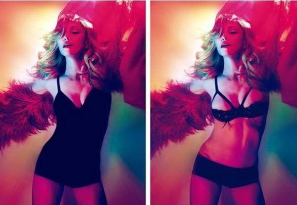 Foto de Madonna de lingerie é proibida na Arábia Saudita