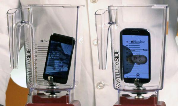 Galaxy S3 e iPhone 5 são triturados por liquidificador em teste de resistência